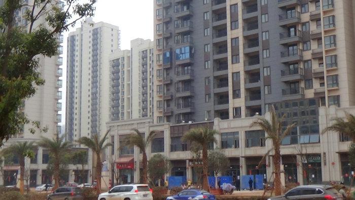南昌万达文化旅游城D区商铺已完工待验收